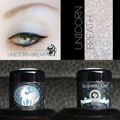 Scaredy Cat ★ Unicorn Breath  ★★★PLEASE NOTE: these sifters are 5 mL by volume, but hold an estimated 3.5 grams by weight. The estimated