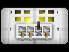 ✔ Minecraft: How to make a Combination Lock - YouTube