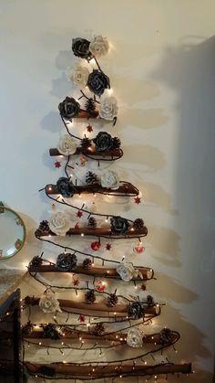 Albero di Natale con rami