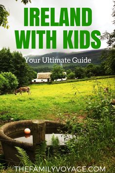 Traveling to Ireland with kids? Read our family-friendly Ireland travel guide for the best itinerary, activities and accommodations for your trip! #Ireland #travel #familytravel #Europe #travelwithkids