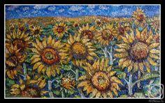 Sunflowers. By Irina Kabanova