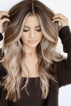 Bronde Balayage, Balayage Brunette, Hair Color Balayage, Bronde Haircolor, Dark Brown To Blonde Balayage, Bayalage, Blonde For Brunettes, Ombre Hair Color For Brunettes, Honey Balayage