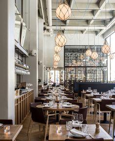 Bar - Restaurant - Hotel / Bronda Restaurant Decor Inspired by Scandinavian Sea Coast