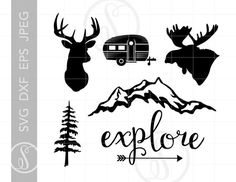 Elk Head, Moose Head, Elk Silhouette, Software Support, Silhouette Studio Designer Edition, Dyi Crafts, Svg Cuts, Cutting Files, Overlays