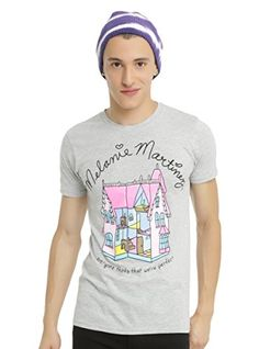 9e40109064d01 Heather grey T-shirt from Melanie Martinez with a large