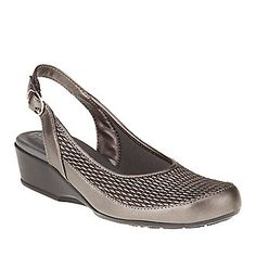 FootSmart Stretchables Trudy Slingback Sandals :: Casual Shoes :: Shop now with FootSmart
