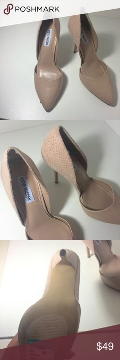 "Steve Madden ""giddy"" blush d'orsay size 8 Brand new no box Steve Madden Shoes Heels"