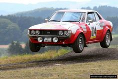 Toyota Celica, GT, Coupe, MkI, Phase I, 1600cc, TA22, 1970 to 1975, in full rally trim