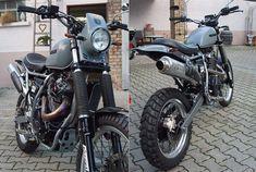 Custom Suzuki DR 800 Big - Good Spark Garage