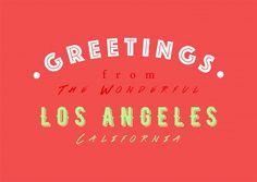 WONDERFUL LOS ANGELES | Urlaubsgrüße | Echte Postkarten online versenden | MyPostcard.com