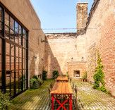 Sarofsky Studio's gorgeous office space is nestled within a charming 19th century building | Inhabitat - Sustainable Design Innovation, Eco Architecture, Green Building
