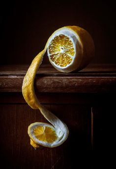 Lemon peel - vanitas symbol (the transience of life)