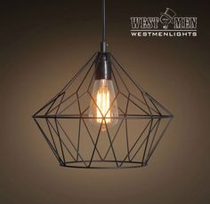 Vintage Industrial Cage Iron Pendant Light Hanging Lamp Art Deco Lighting Black Westmenlights is a craft lighting company that provides high quality lighting and personal service. Our style comes from
