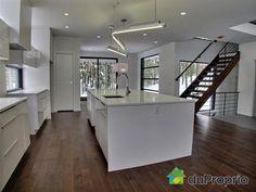 Exemple d coration salon cuisine aire ouverte photos cuisine et recherche - Cuisine aire ouverte ...