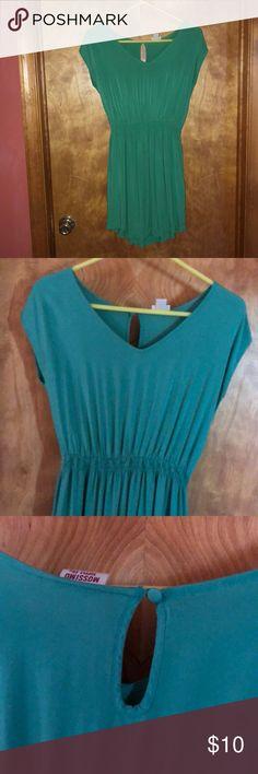 Green Sun Dress green sun dress lightly worn Mossimo Supply Co Dresses