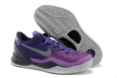 finest selection 21c4f 5f028 Latest Listing Cheap Nike Kobe 8 System Court Purple Pure  Platinum-Blackened Blue-Laser Purple Womens Your Best Choice