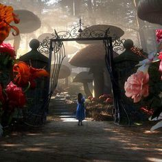 alice in wonderland / tim burton