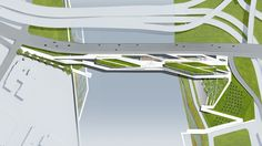 4 propostas para o primeiro parque elevado de Washington,© Stoss Landscape Urbanism / Höweler + Yoon Architecture