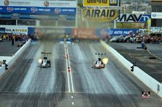 """Tony """"THE SARGE"""" Schumacher & Crew win the 2nd race of the season in the United States Army T/F Dragster at the Phoenix Nationals. Tony qualifies #1, Breaks his front wing minutes before Rnd. 1, shows up late to the Semi Finals and then sets his fastest speed of the weekend in the final round."""