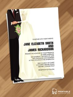 Red Carpet Old Hollywood Couple Shower Invitation