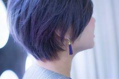 【ヘアカラー】青系統の髪の色が密かに注目を浴びている様子の画像