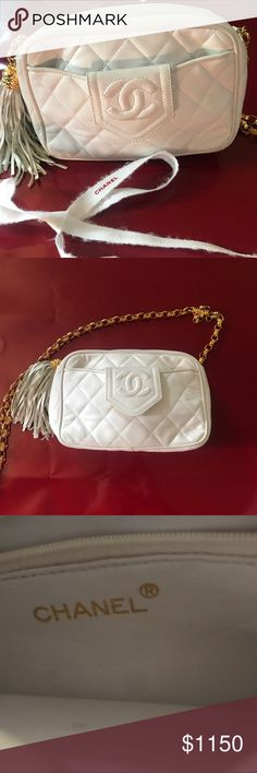 91360fefa7a083 Chanel Bag Gorgeous Chanel Lamb Skin bag - gently used - shows some wear on  the