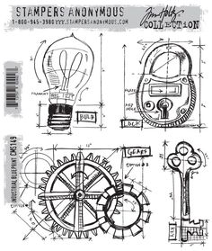 cha-winter 2013 sneak peek… stampers anonymous | Tim Holtz