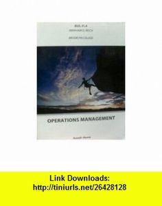 Operations Management (custom edition for BUS 31.4 at Brooklyn College) (9780470731970) Louis E. Boone, David L. Kurtz, Roberta S. Russell, Bernard W. Taylor , ISBN-10: 0470731974  , ISBN-13: 978-0470731970 ,  , tutorials , pdf , ebook , torrent , downloads , rapidshare , filesonic , hotfile , megaupload , fileserve