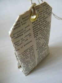 "Sarah Pinyan posted DIY Scented Tea Bag. Fold a teabag from old book pages, kraft paper or patterned paper. Fill with lavender or star anis/aniseed. Check out the tea bag fold at my otherpost""Tea Bag Gift Tags"". From Be-House 8/24/08. to her -Pape..."