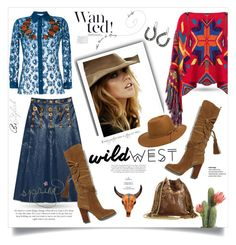 """Wild west style"" by monica-dick ❤ liked on Polyvore featuring Gucci, Polo Ralph Lauren, Michael Kors, M&F Western, Jérôme Dreyfuss, RHYTHM and wildwest"