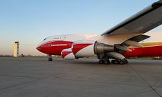 Global SuperTanker Launches B747-400 Aerial Firefighting Aircraft - http://www.airline.ee/global-supertanker/global-supertanker-launches-b747-400-aerial-firefighting-aircraft/ - #GlobalSuperTanker