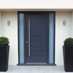 external door aluminium side window grey - Google Search