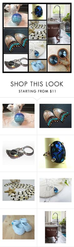 """Tuesday Blues"" by inspiredbyten ❤ liked on Polyvore"