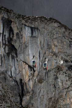 Teleférico de Fuente Dé #Liebana #Cantabria #Mountain #Spain #Travel