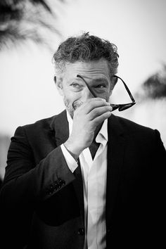 Pin for Later: 30 of the Prettiest Black-and-White Photos From the Cannes Film Festival Vincent Cassel