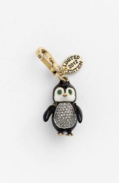 Juicy Couture penguin charm - what a nice Christmas gift this was....