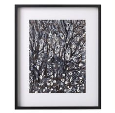 Modern original abstract black  white painting of by garimadesigns, $50.00