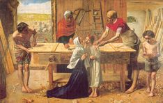 John Everett Millais' Christ in the house of his parents