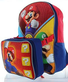 Nintendo Little Boys' Super Mario Backpack with Lunch Box... https://www.amazon.com/dp/B00ZQ4PZRS/ref=cm_sw_r_pi_dp_v.aLxbCE9B7ZJ
