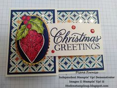 Diane Furniss Independent Stampin' Up! ® Demonstrator : Heart of Christmas 2019 - Week 10