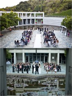 Skirball Cultural Center Museum Wedding by Jeremy Chou Photography