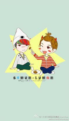 #kpop #exo #exom #exok #weareone #Luhan #lulu #xiaolu #xiluhan #dearmydeer…