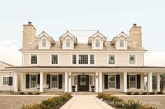 Opal Design Group -Fantastic home exterior with covered porch.