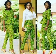 Ankara 2 piece suit
