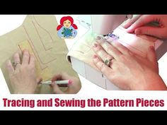DIY | Making a Waldorf Doll: Tracing and Sewing the Pattern Pieces | Sami Doll Tutorials - YouTube
