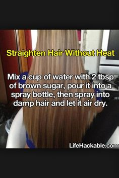This will stop you from damaging your hair