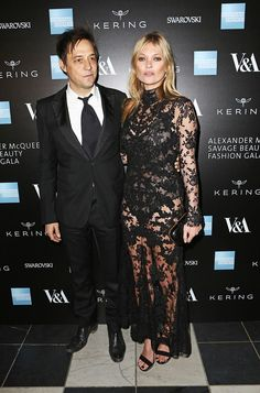 Jamie Hince & Kate Moss at the Opening Night Gala of Alexander McQueen, Savage Beauty