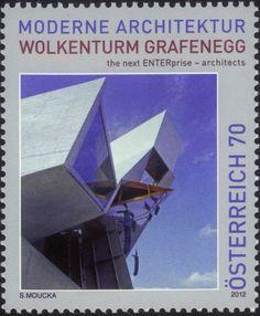Stamp: Grafenegg Cloud Tower (Austria) Mi:AT 3008,Sn:AT 2387,Yt:AT 2837,Sg:AT 3166,ANK:AT 3038,WAD:AT037.12