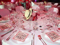 Decor theme guinguette, decor theme parisien, decor theme cabaret, decor theme moulin rouge www.decorsfetes.com
