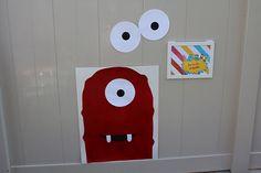 Pin the Eye on Muno. Game for Yo Gabba Gabba party.
